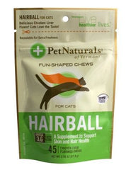 Hairball - Hairball Chews By PetNaturals