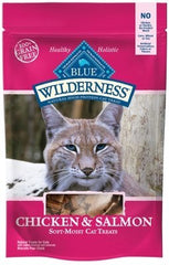 Treats - BLUE Wilderness® Chicken & Salmon Cat Treats