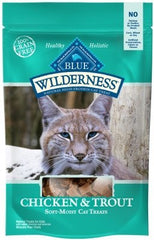 Treats - BLUE Wilderness® Chicken & Trout, 2-oz Bag