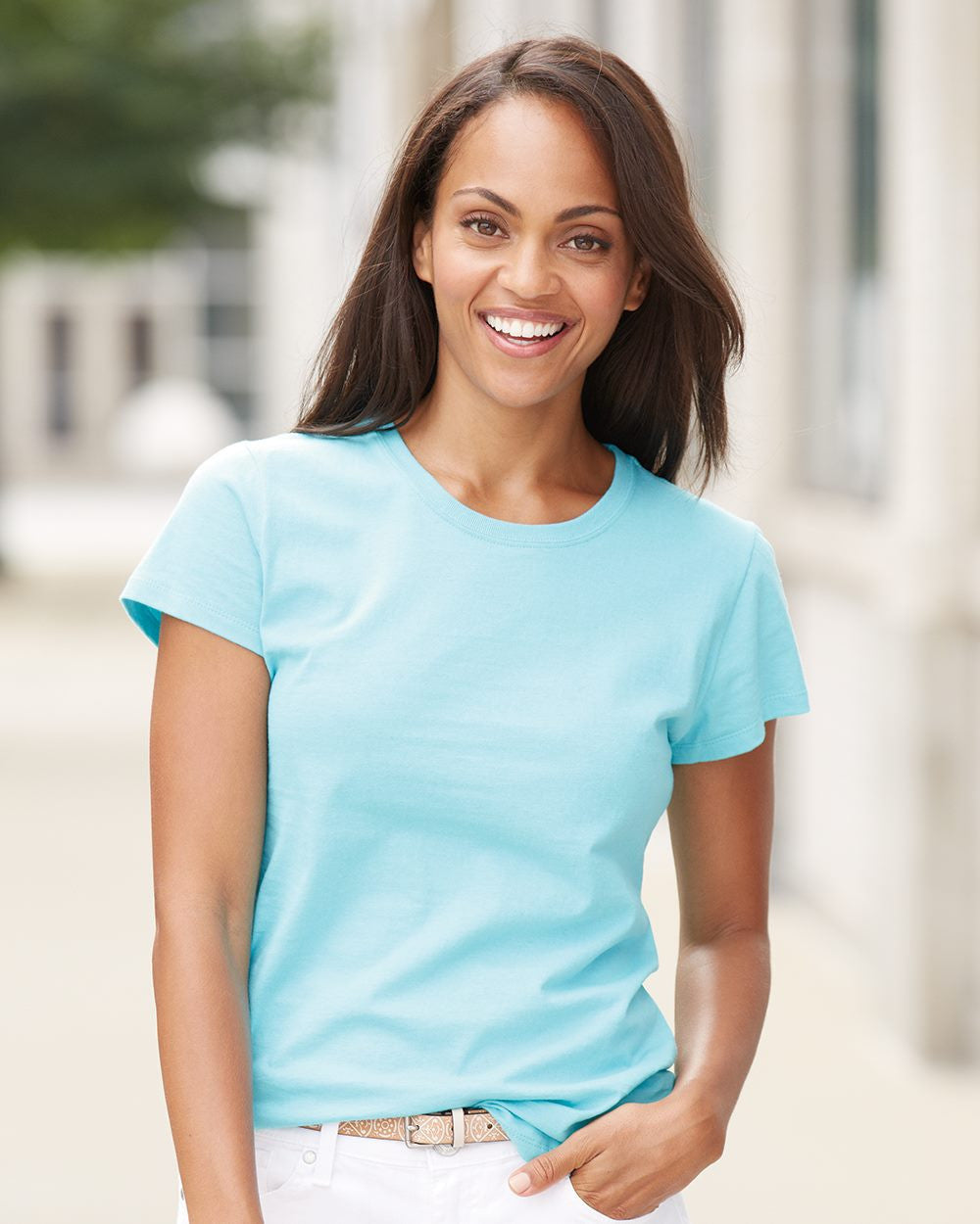 5 Pack Womens T Shirts By Fruit Of The Loom