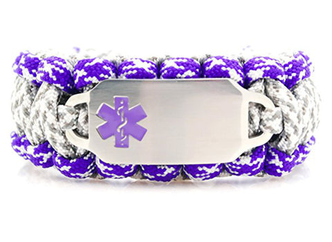 550 Paracord Medical ID Bracelet