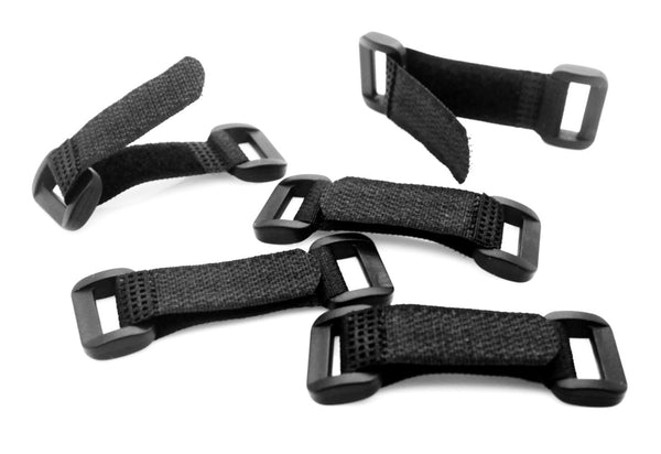 Adjustable Velcro Hook and Loop Buckle Strap Closures Perfect for Paracord