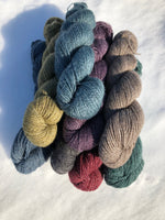 Qiviut Yarn - 50% - Lace - 1 oz - Teal Colour