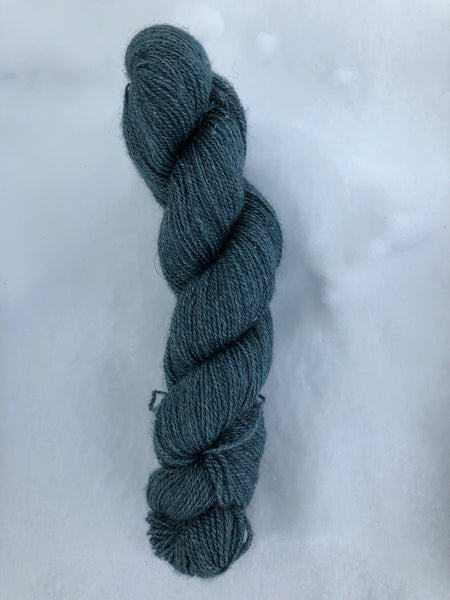 Qiviut:Silk - Lace - 1 oz - Teal