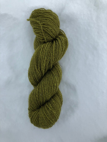 Qiviut Yarn - 60% - Lace - 1 oz - Moss Colour