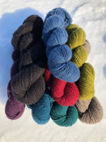 Qiviut Yarn - 60% - Lace - 1 oz - Teal Colour