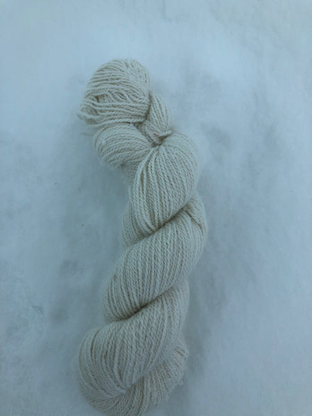 Arctic Hare Yarn - Lace - 1 oz - Natural Colour