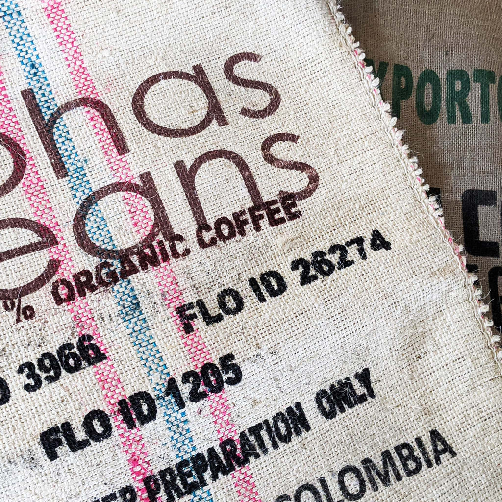 Off-White Burlap Coffee Sack
