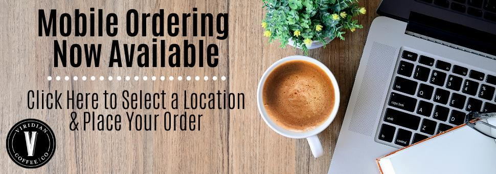 Viridian Coffee Online Ordering