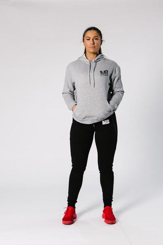 MB Hooded Jumper - Grey