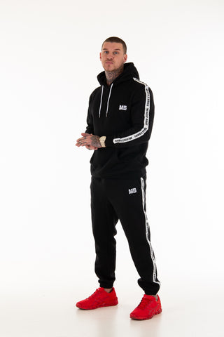 Unisex Black Trackies