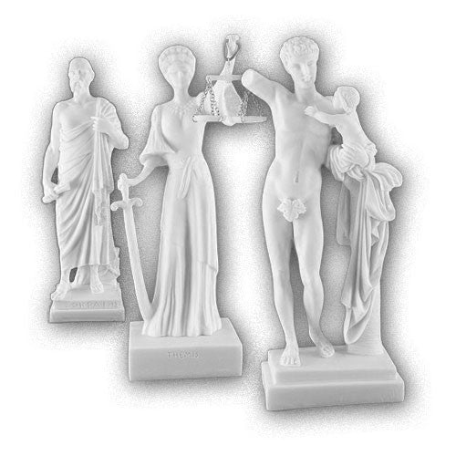 Alabaster statues