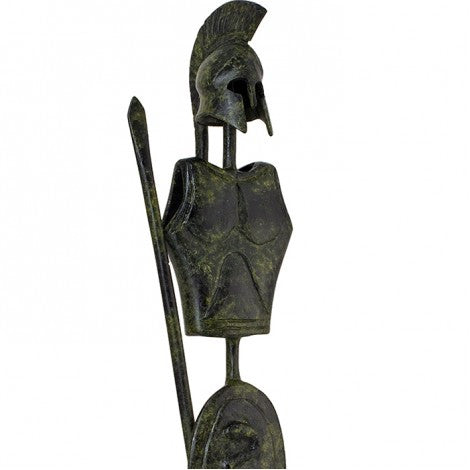 Body armor of a Corinthian warrior 39cm (bronze natural oxydite)