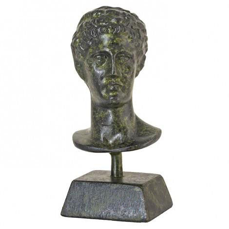 Bust of Hermes 9cm (bronze natural oxydite)