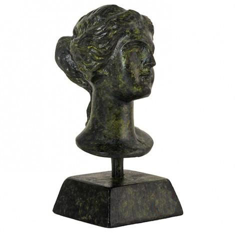 Bust of Aphrodite 9cm (bronze natural oxydite)
