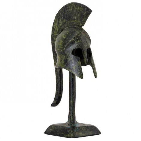 Helmet with base 10cm (bronze natural oxydite)