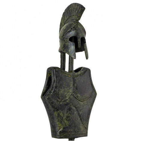 Breastplate and helmet of a Corinthian hoplite 15cm (bronze natural oxydite)