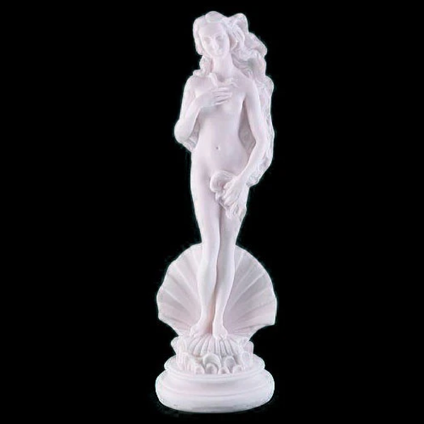 Aphrodite goddess of love, beauty, pleasure, and procreation 15cm