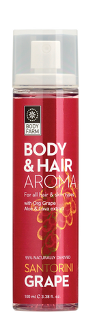 BODY & HAIR AROMA Santorini Grape