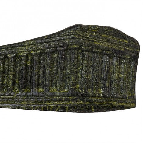 Parthenon former temple on the Athenian Acropolis 5cm (bronze natural oxydite)