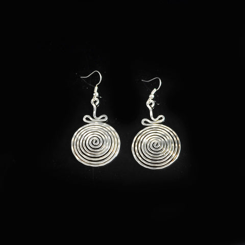 Silver platted earrings
