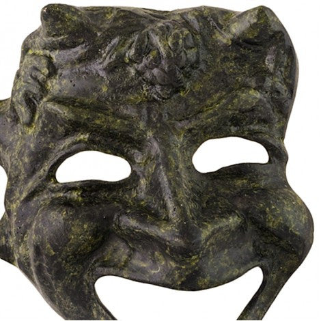 Athenian comedy mask