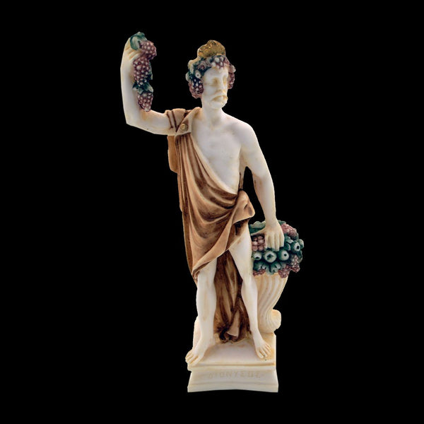 Dionysus god of the grape-harvest 25cm