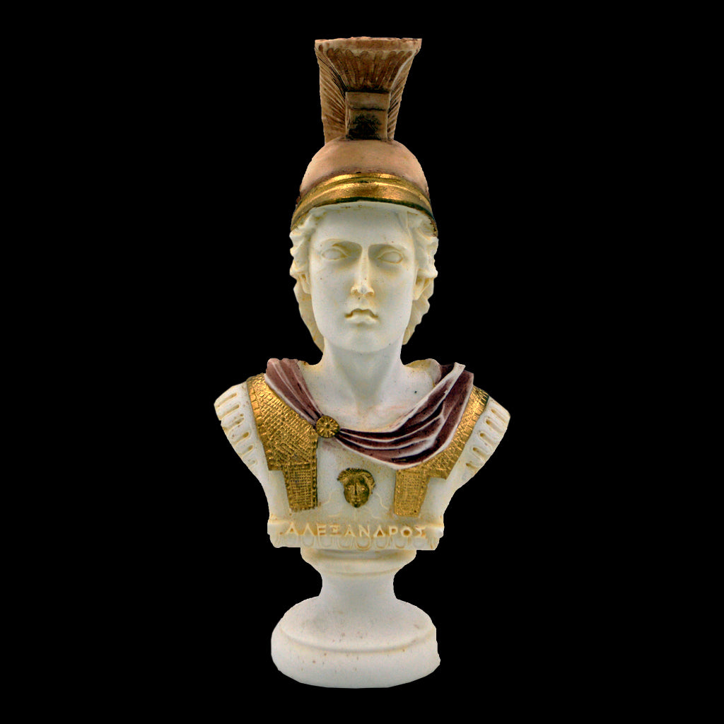Alexander the Great bust 19cm