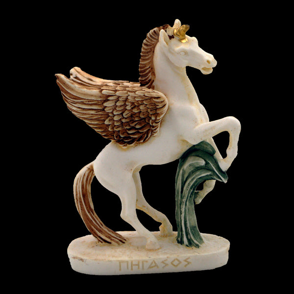 Pegasus mythical winged divine stallion