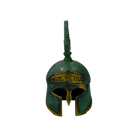 Corinthian helmet with colour and crest
