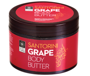 Body butter Santorini Grape