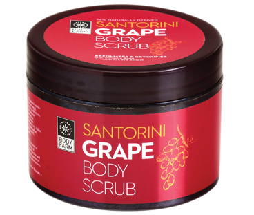 Body scrub Santorini Grape
