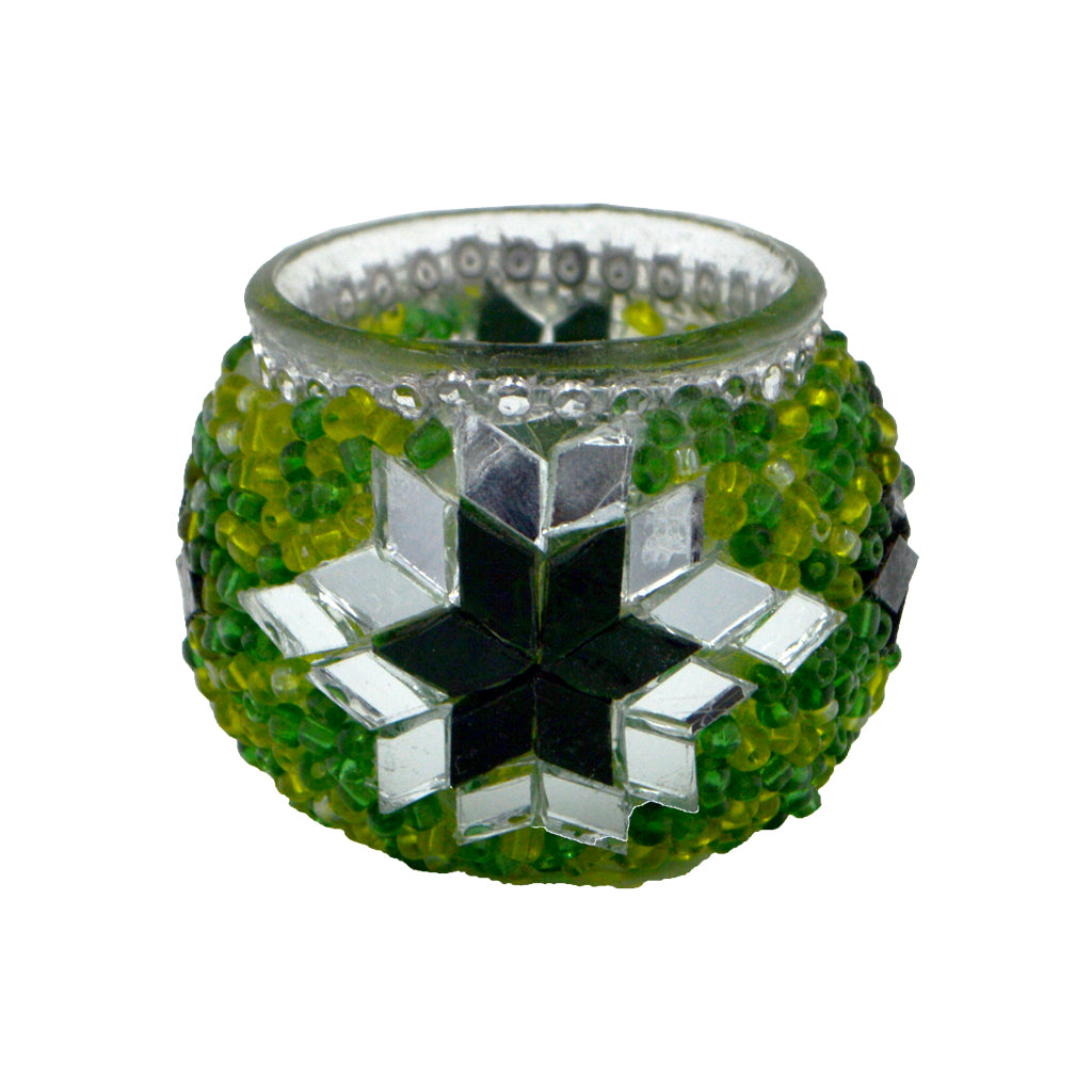 Reso (Candle holder) (green) 6cm