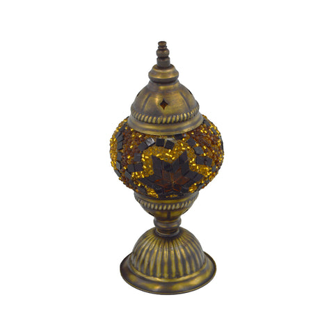 mosaic lamp (dark brown) 23cm