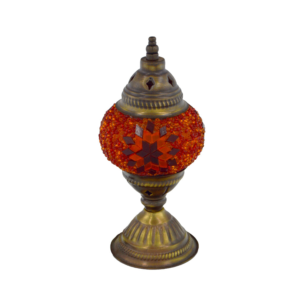 mosaic lamp (orange) 23cm