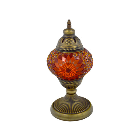 mosaic lamp (orange) 27cm