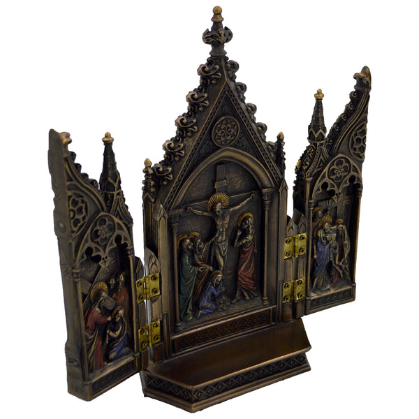 Triptych ( Crucifixion of Jesus )
