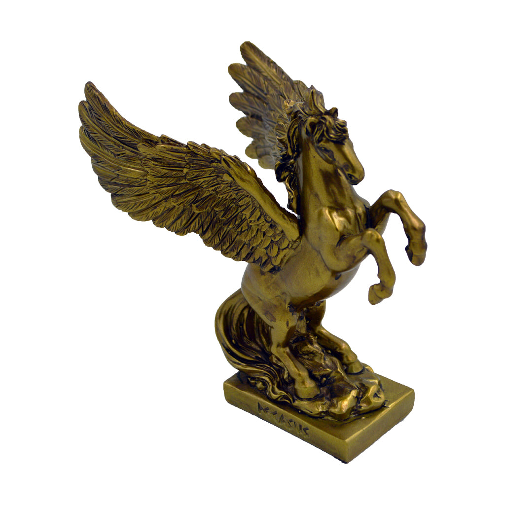 Pegasus mythical winged divine stallion 15cm