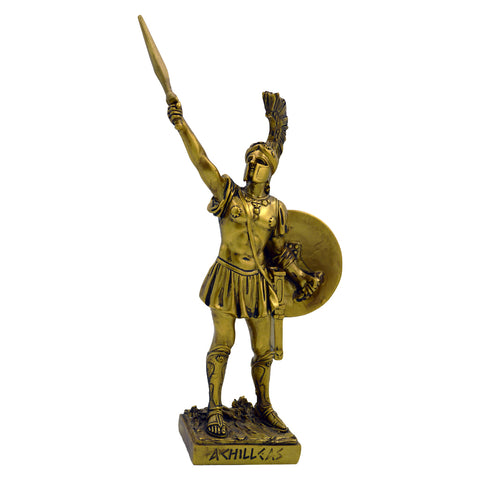 Achilleas with sword and shield 19cm