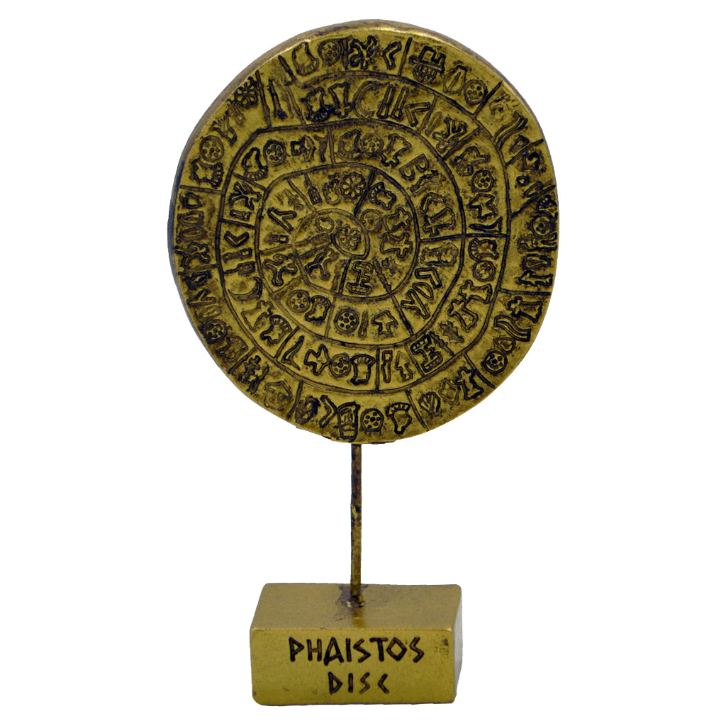 Faistos Disc or Phaistos Disc 13cm