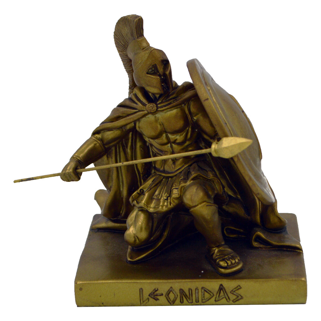 Leonidas Greek warrior king in defence 13.5cm