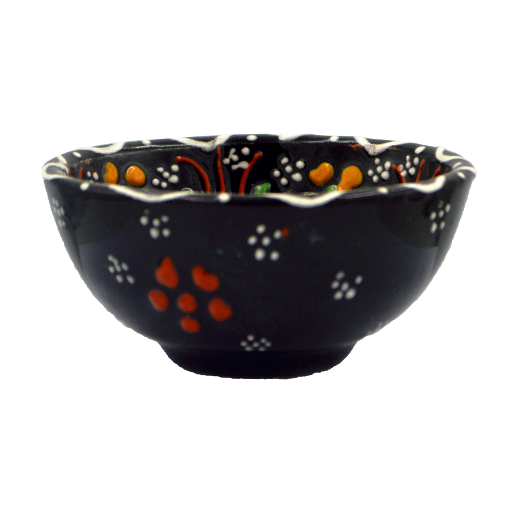 Ceramic bowl (dark blue) 8cm