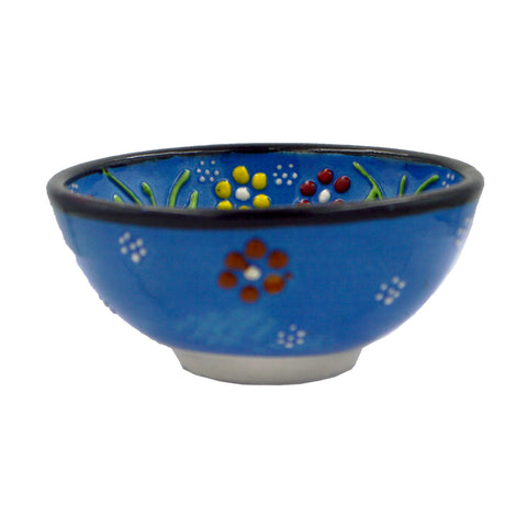 Ceramic bowl (blue) 8cm