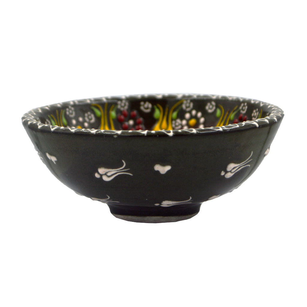 Ceramic bowl (black) 15cm