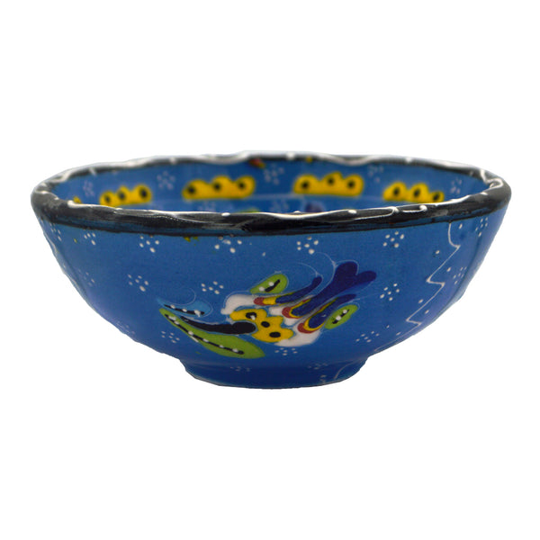 Ceramic bowl (blue) 15cm