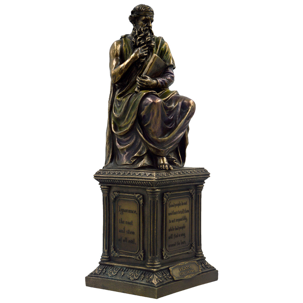 Platon greek philosopher sitting 30cm
