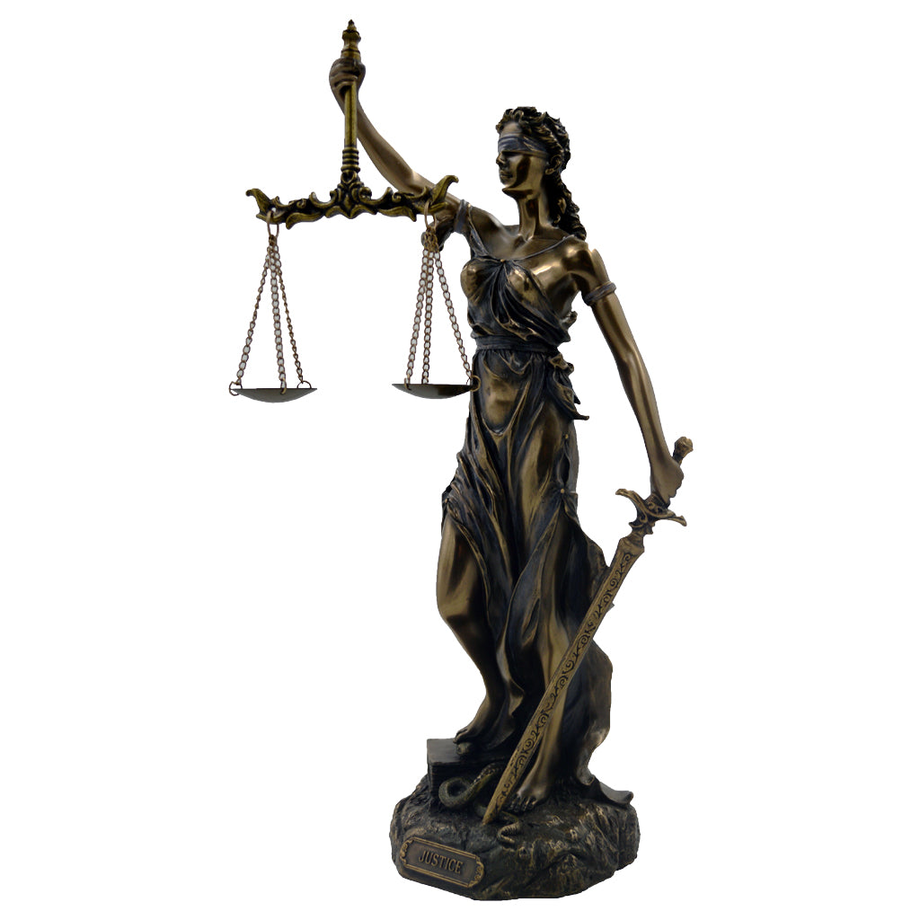 Justitia (Themis) goddess of divine justice 169CM