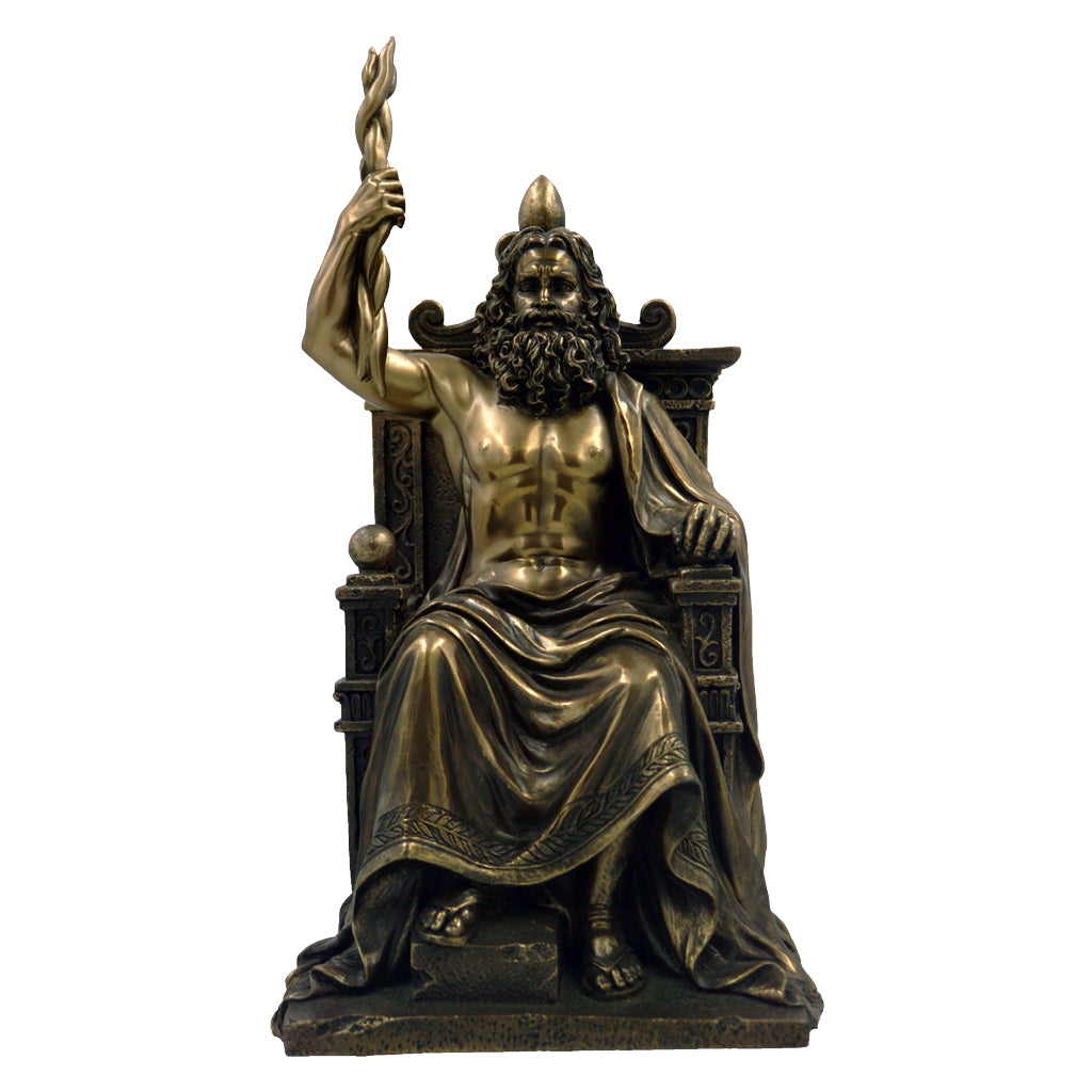 Zeus Enthroned 31cm