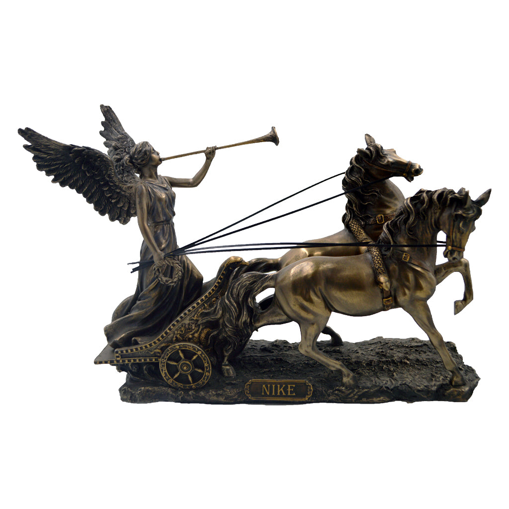 Nike goddess of victory on a chariot 29cm