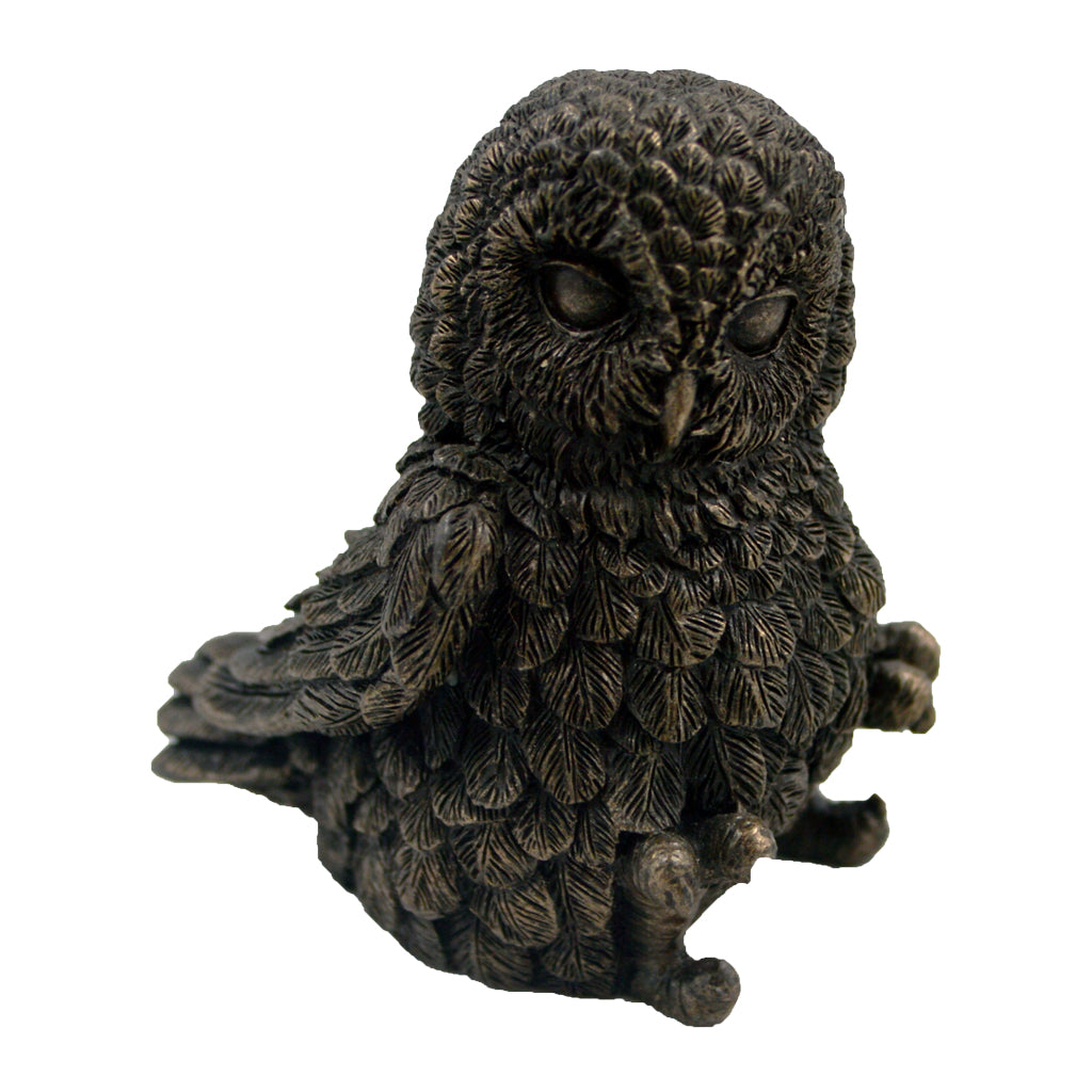 Owl sitting 6cm (owl of athena)